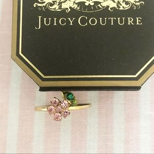 Juicy Couture Flower Floral Ring